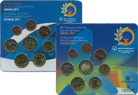 Obverse of Greece XIII Special Olympics World Summer Games 2011