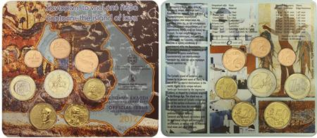 Obverse of Greece Official Blister 2012