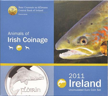 Obverse of Ireland Official Blister 2011