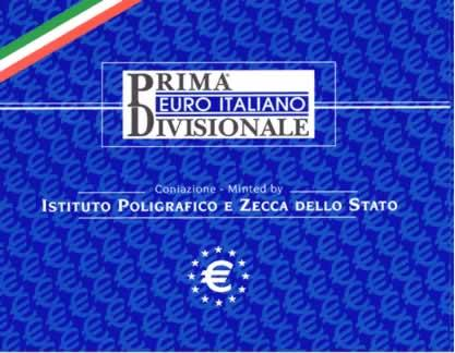 Obverse of Italy Official Blister - IPZ 2002