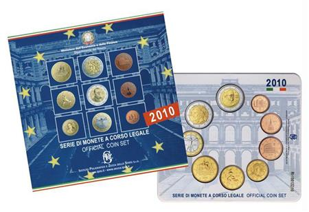 Obverse of Italy Official Blister 2010