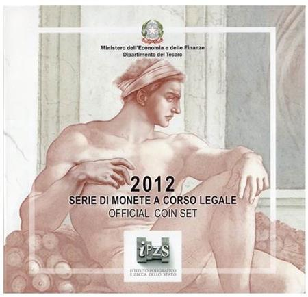 Obverse of Italy Official Blister - Sistine Chapel 2012