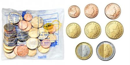 Obverse of Luxembourg Starter Kit 2002