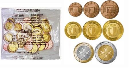 Obverse of Malta Starter Kit 2008