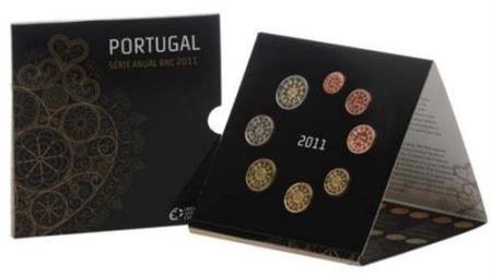 Obverse of Portugal Official Blister 2011