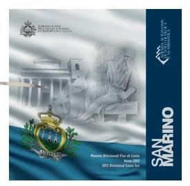Obverse of San Marino Official Blister 2012