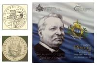 Obverse of Official Blister - Giovanni Pascoli KMS Set