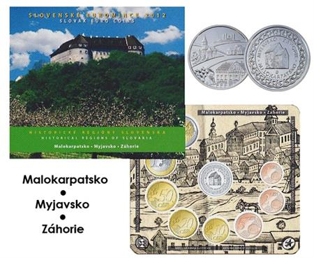 Obverse of Slovakia Official Blister 2012