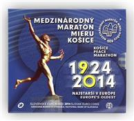 Obverse of 90th start of the Košice Peace Marathon KMS Set