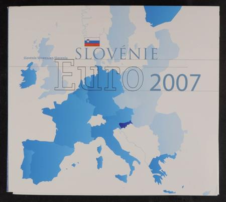 Obverse of Slovenia Annual Blister 2007