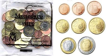 Obverse of Spain Starter Kit 2002