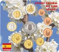 Obverse of Official Blister - Extremadura KMS Set