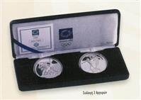 Obverse of Greek Athens 2004 Blister (Silver A) KMS Set