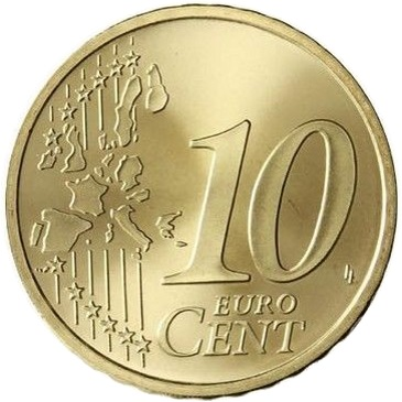 Belgium 10 Cent 2001 Eur1891
