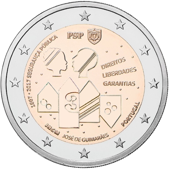 Portugāle, 2 eiro piemiņas monēta