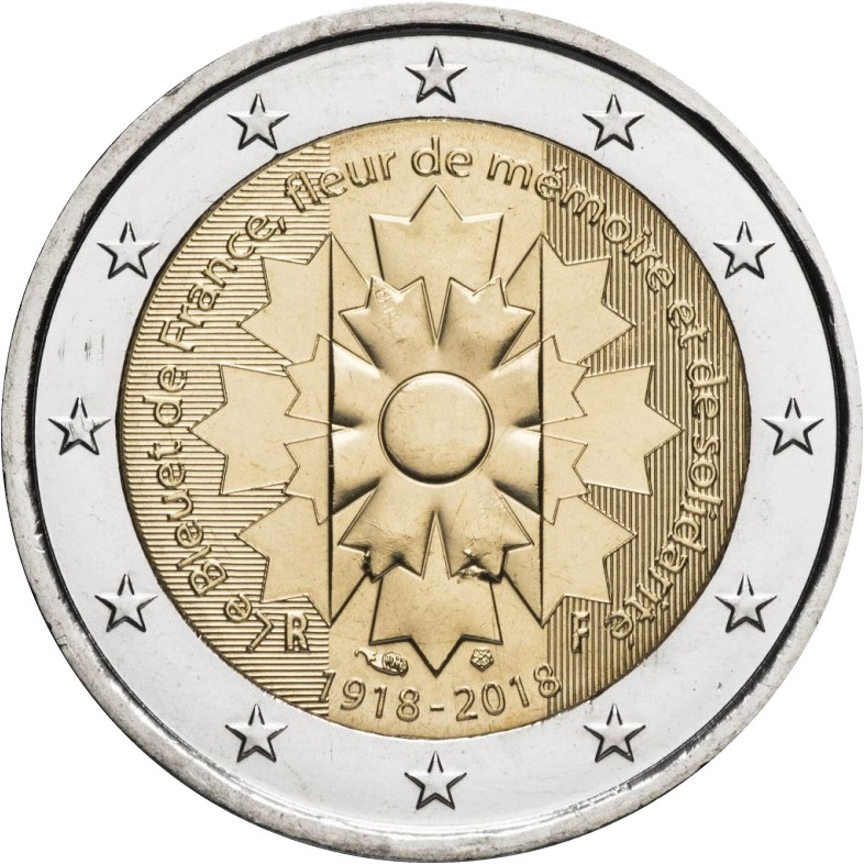 Mintages for France 2 euro commemorative coins