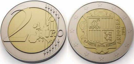 andorran euro coins information images and specifications. Black Bedroom Furniture Sets. Home Design Ideas
