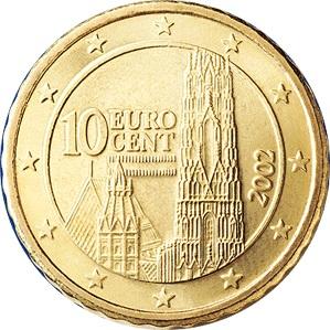 2007 10 cent  unc coin