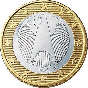 Germany 1 euro 2003 j hamburg eur487 for Sitzkissen gunstig 1 euro