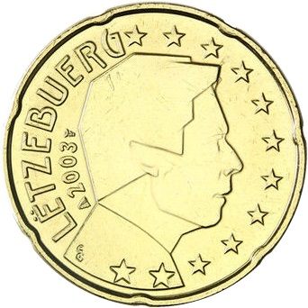 Most Rare Circulation Euros From Luxembourg