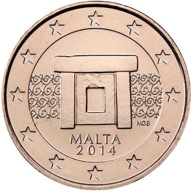 most rare circulation euros from malta. Black Bedroom Furniture Sets. Home Design Ideas