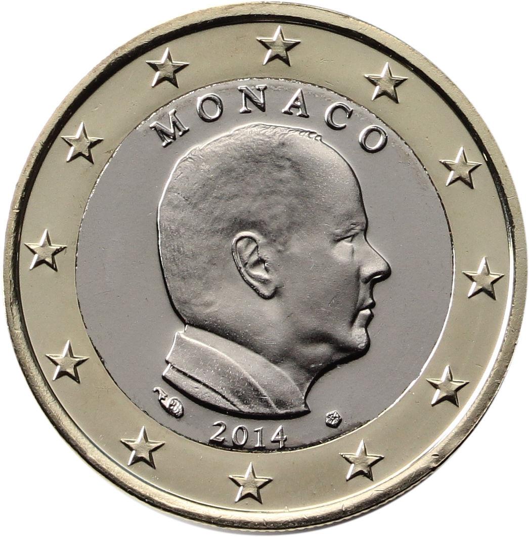 Monaco 1 euro 2007 eur1091 for Sitzkissen gunstig 1 euro