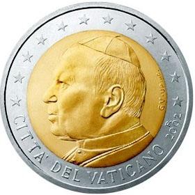 coin 2003 Vatican 2 John Paul II