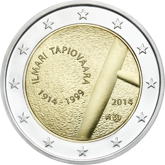Finland 2 euro 2014  Ilmari Tapiovaara [eur27245]