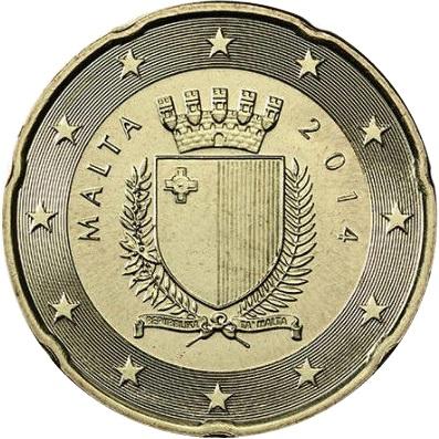 Malta 20 Cent 2008 Eur1055 Images, Photos, Reviews