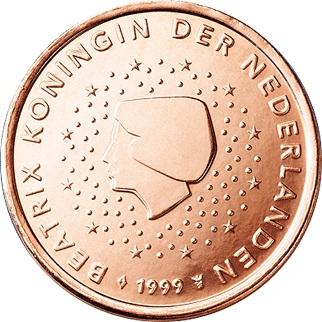 Netherlands 5 Cent 2001 Eur833