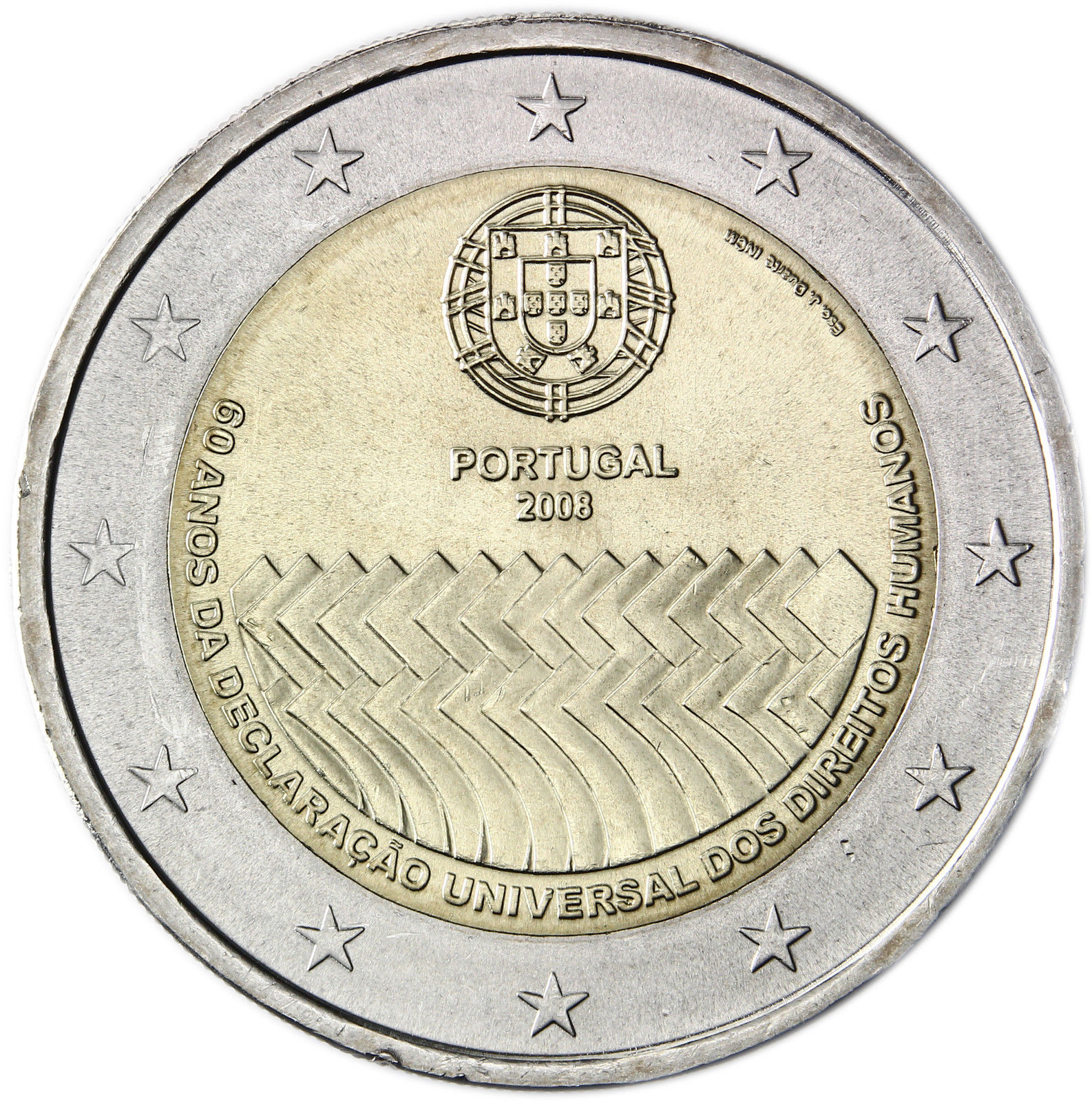 Portugal 2 Euro 2008 60th Anniversary Of The Universal