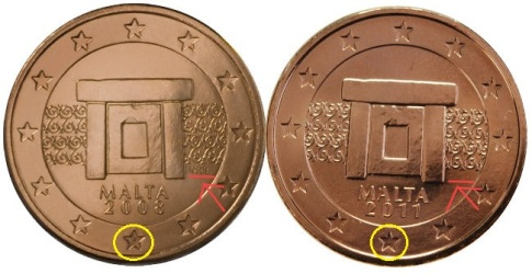 Maltese 2011 euro design changes